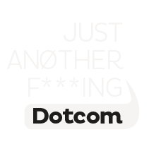 Just Another F***ing Dotcom Logo